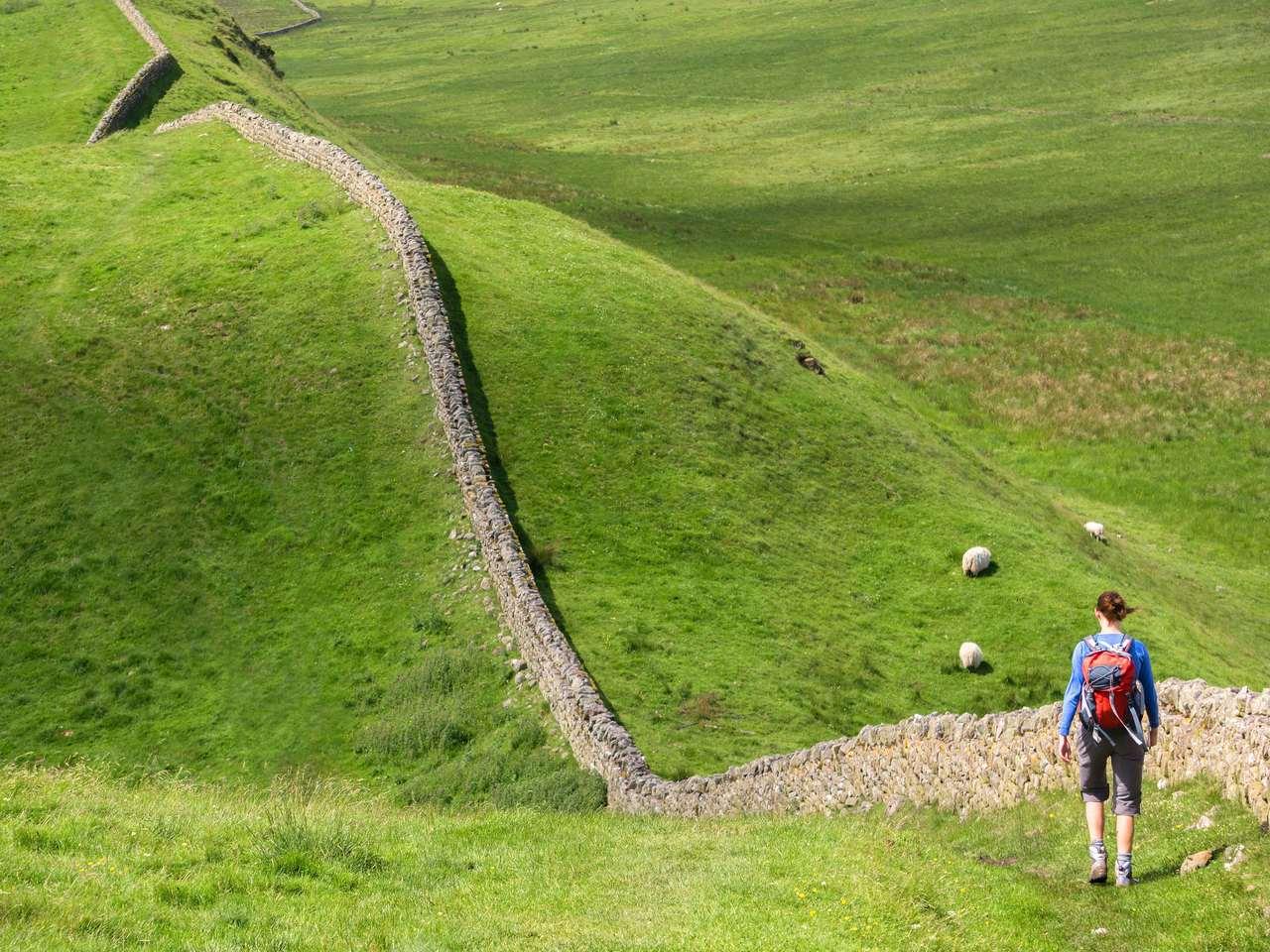 "Walking ""The Wall"""