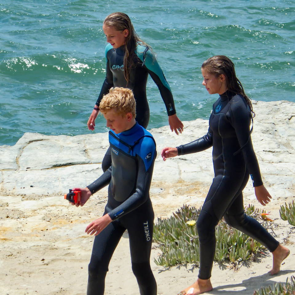 Wetsuit Snorkel & Mask or Body Board Hire